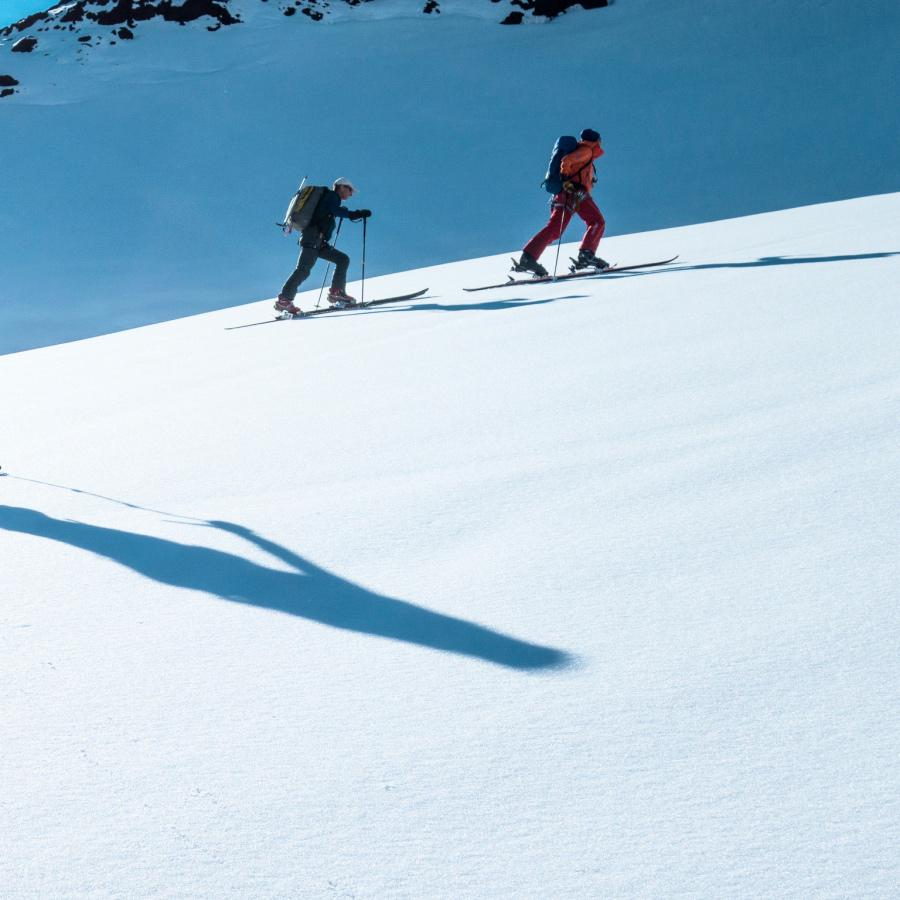 Villarrica Volcano ascent with Ski or Snowboard slide 1